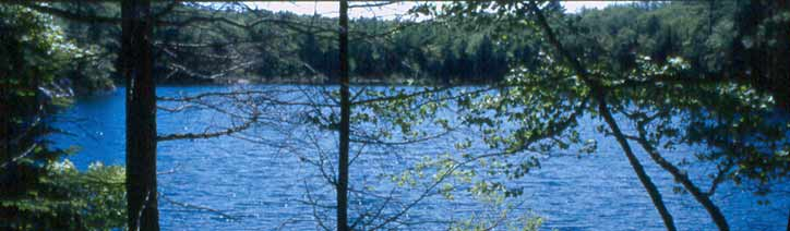 Photograph of Sprague Pond by Bob Cummings